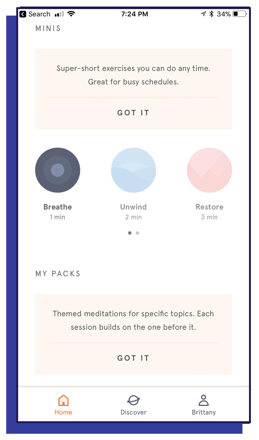 Headspace App - Minis