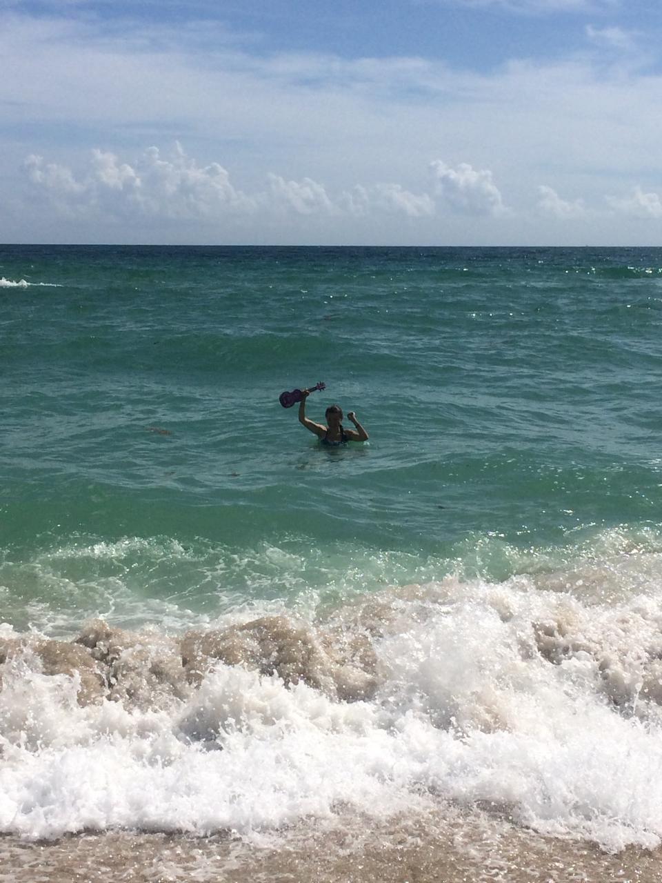 Makala Waterman meets Atlantic Ocean
