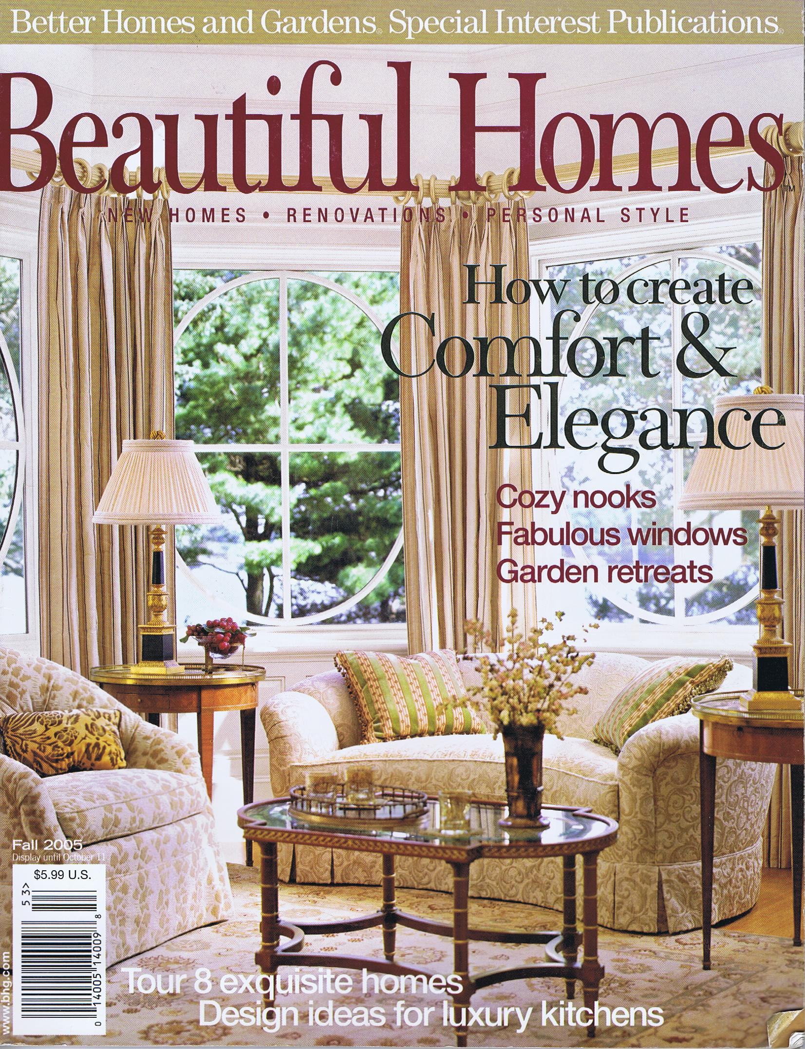 Beautiful Homes, Fall 2005