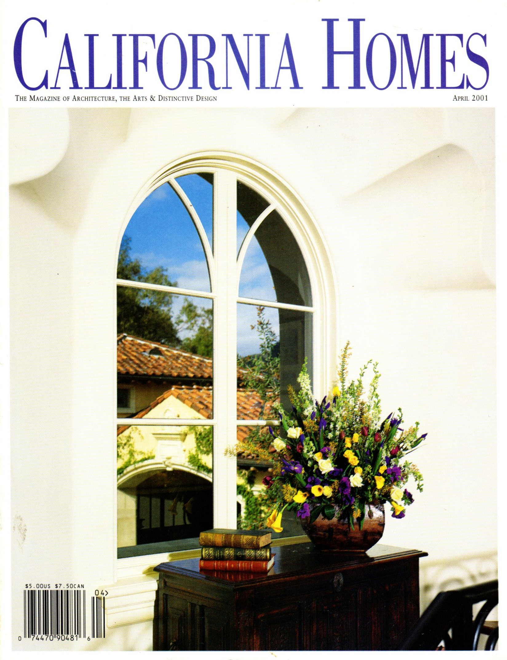 California Homes, April 2001