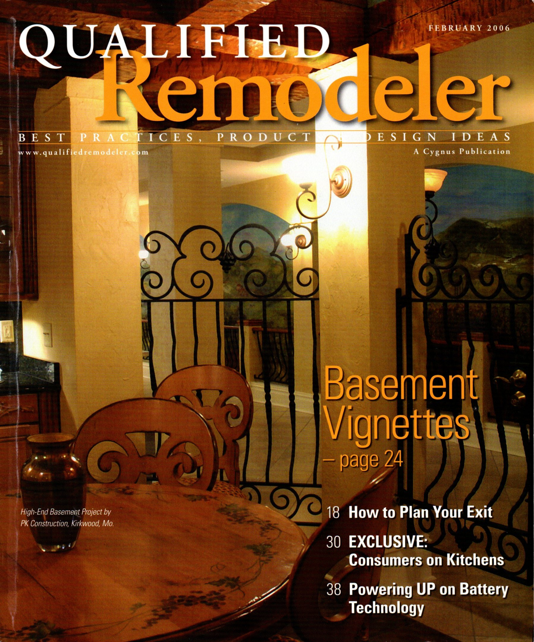 Qualified Remodeler, February 2006