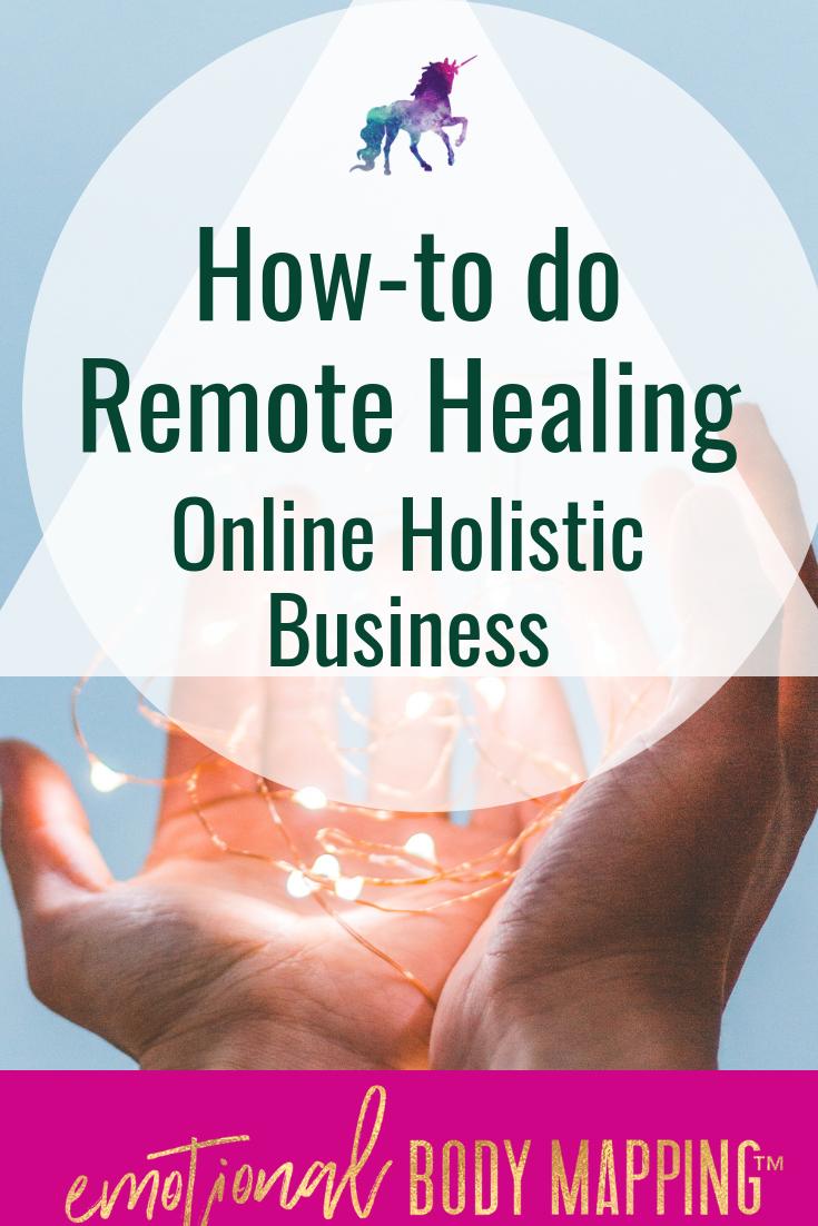 Remote Healing Online Business
