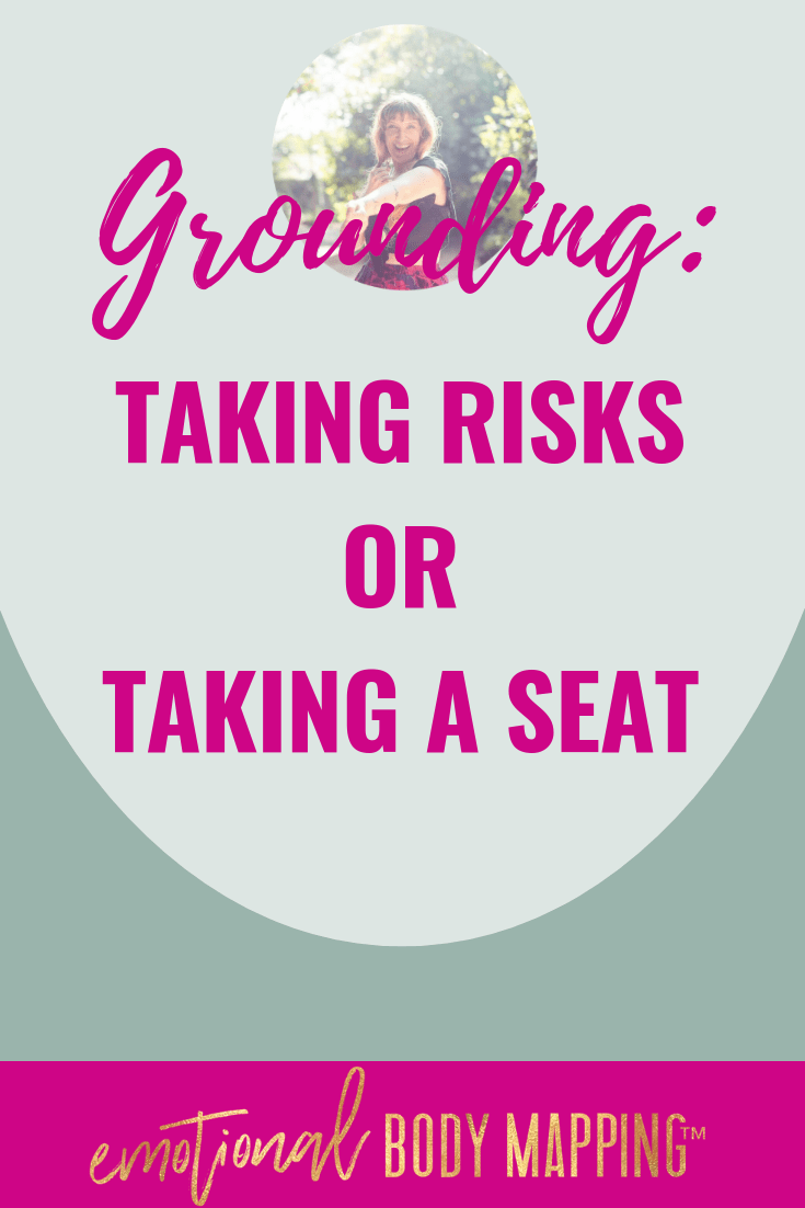 Grounding step inward into self
