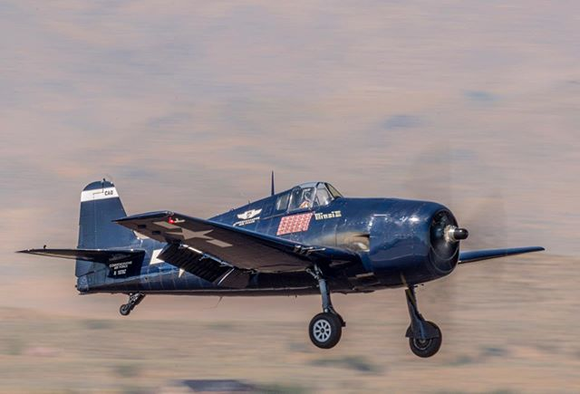 Reno Air Races 2019: F6F-5 Minsi III #renoairraces #caf  #minsiiii #f6f #hellcat #commemorativeairforce #reno #nevada #renotahoe #wwii #militaryaircraft #kristofferglennimagery #kristofferpfalmer #pfalmer #nikond800