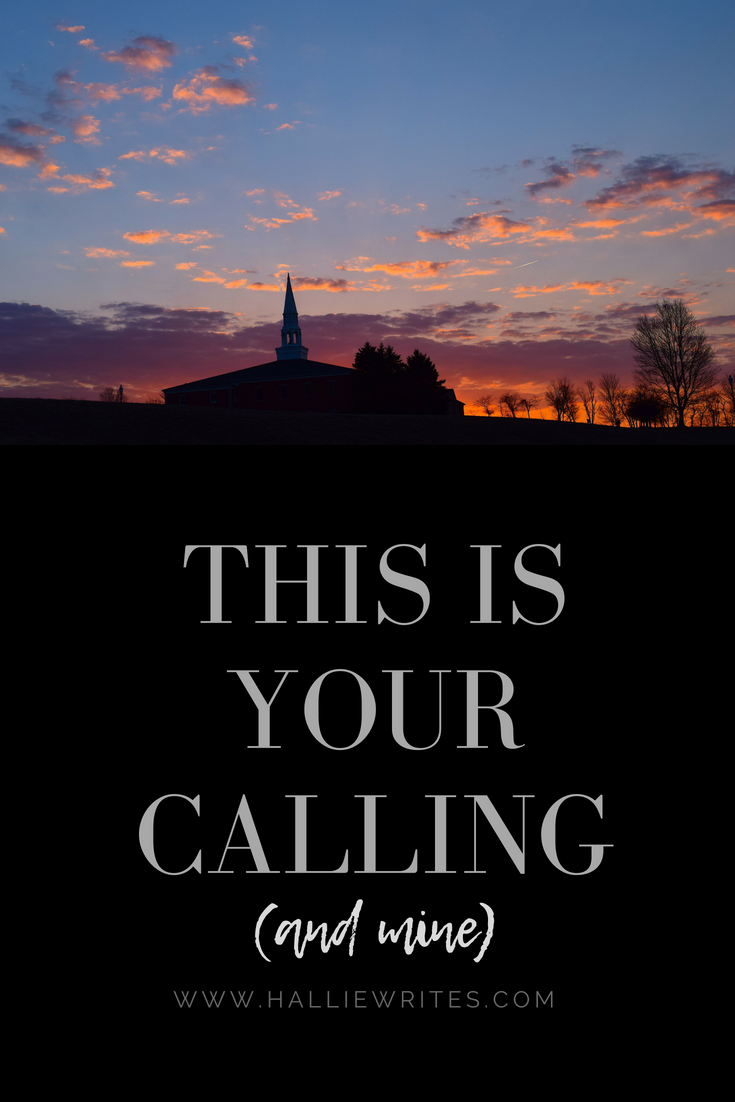 This is your calling and mine - God wants to do His deepest work in us and through us. His Church is called to be His love to the world.