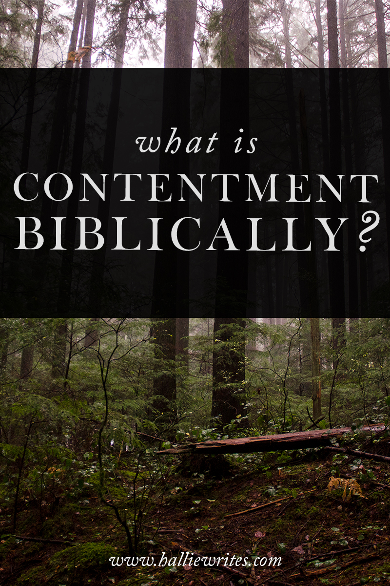 "We can be content even when we lack basic needs and wants because contentment is a theological acknowledgement statement that ""God has done right."""
