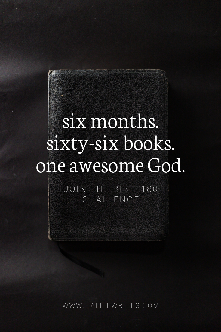 How to read through the Bible in 180 days