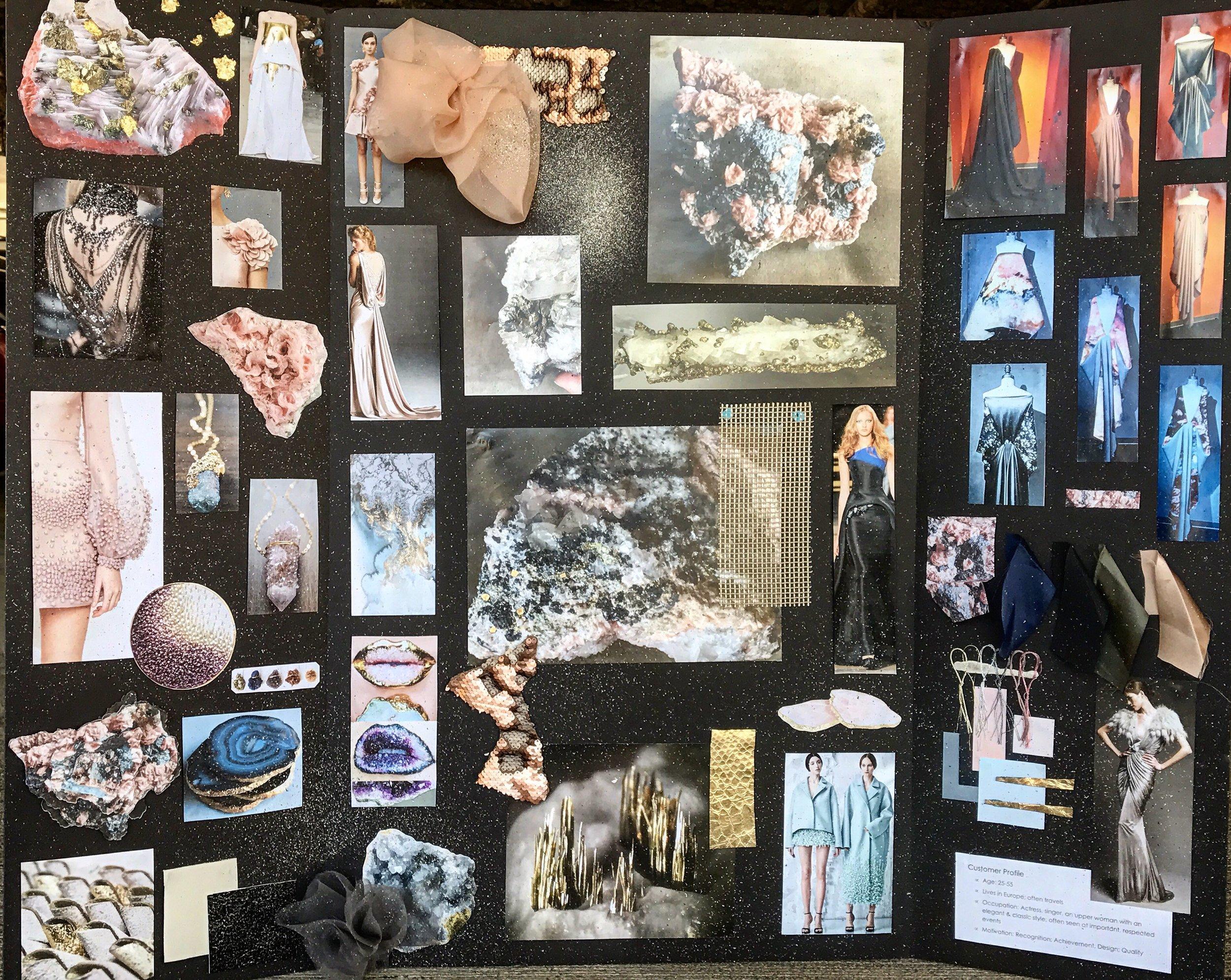 Senior Collection Mood Board