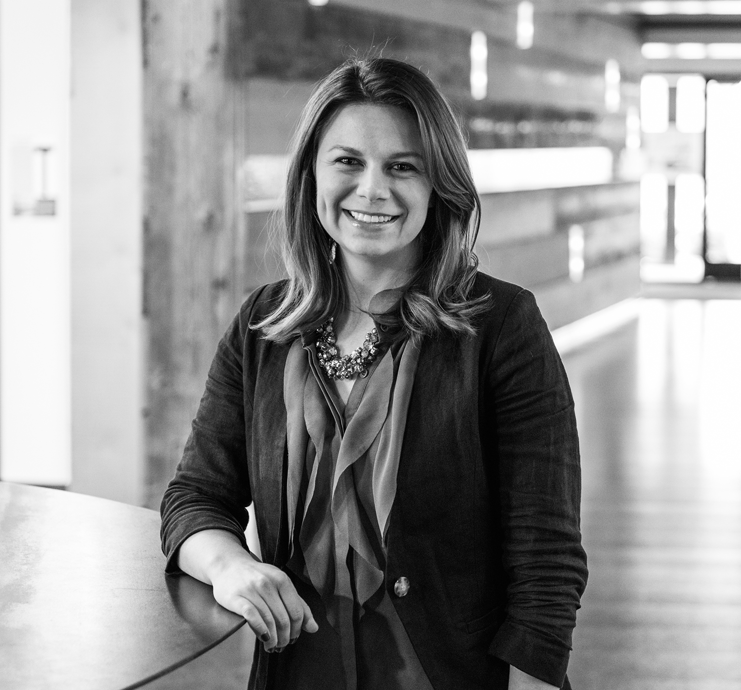 Rice Fergus Miller 's Kristen Linn is blazing trails as the lead architect on the new building that Vibe is proud to call home.