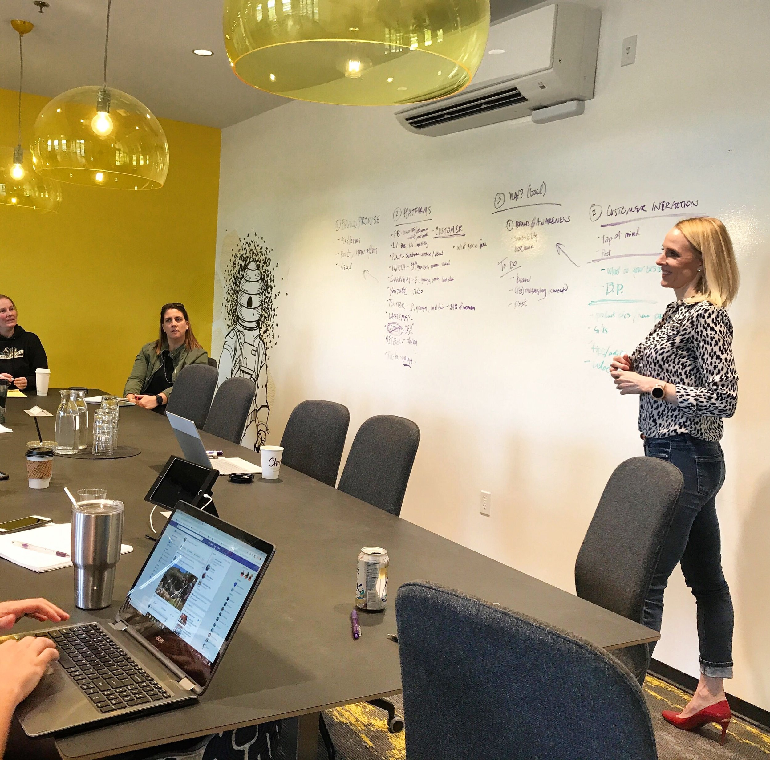 Katie's monthly marketing workshops at Vibe are helping members and non-members alike build relationships, and level up their marketing know-how.