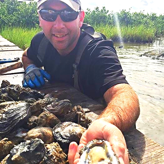Hi I'm Scott! CEO of The Louisiana Oyster Co.