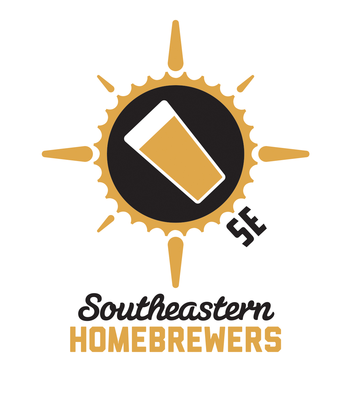 I like beer. So when the Southeastern Home Brewers inquired about a new logo I was more than happy to oblige.   Logo Design