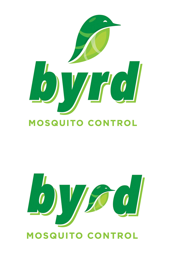 Recognizing the owner's name as an great branding opportunity helped bring this project to life for an new, organic based pest control company.