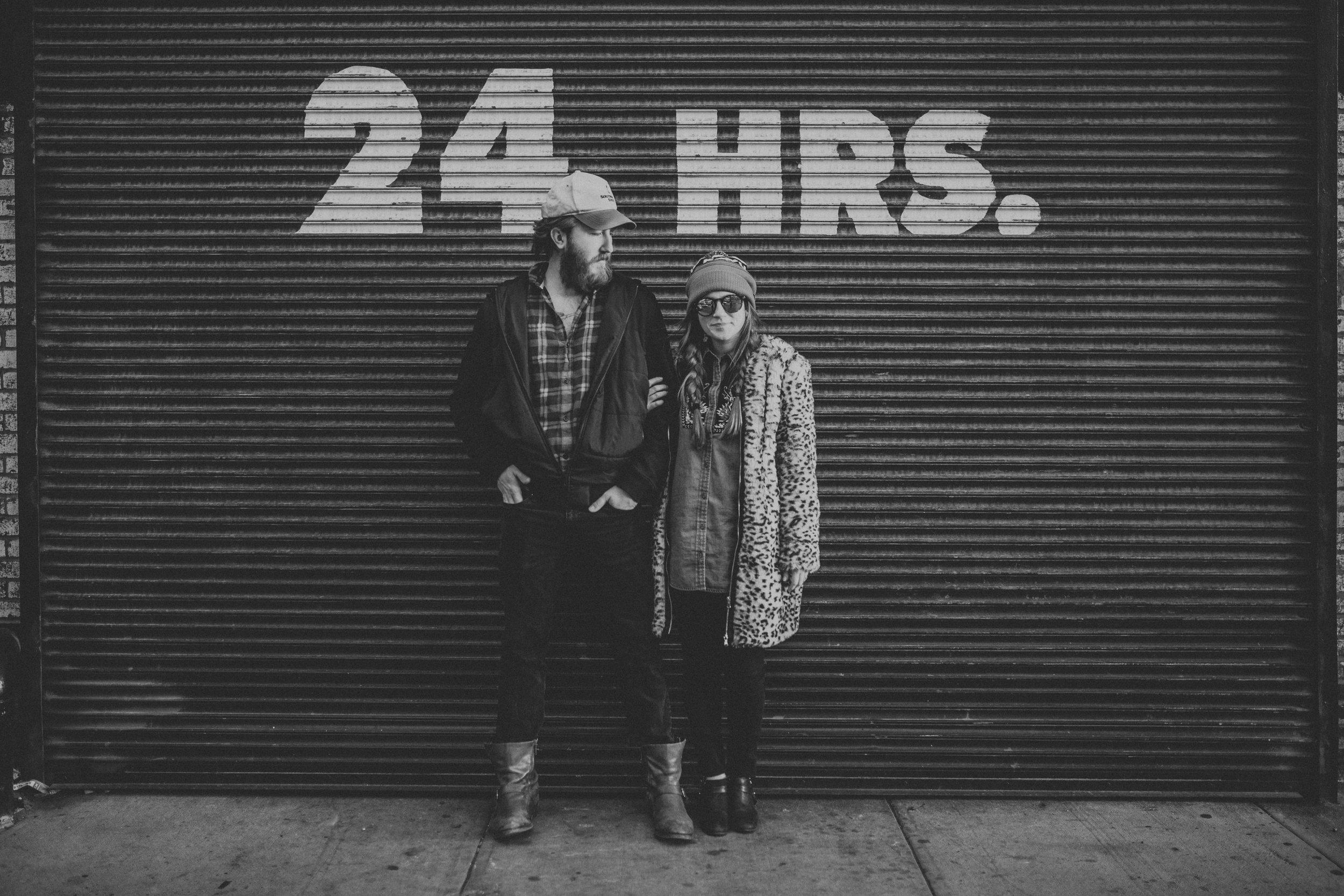 Artistic Brooklyn Engagement Shoot