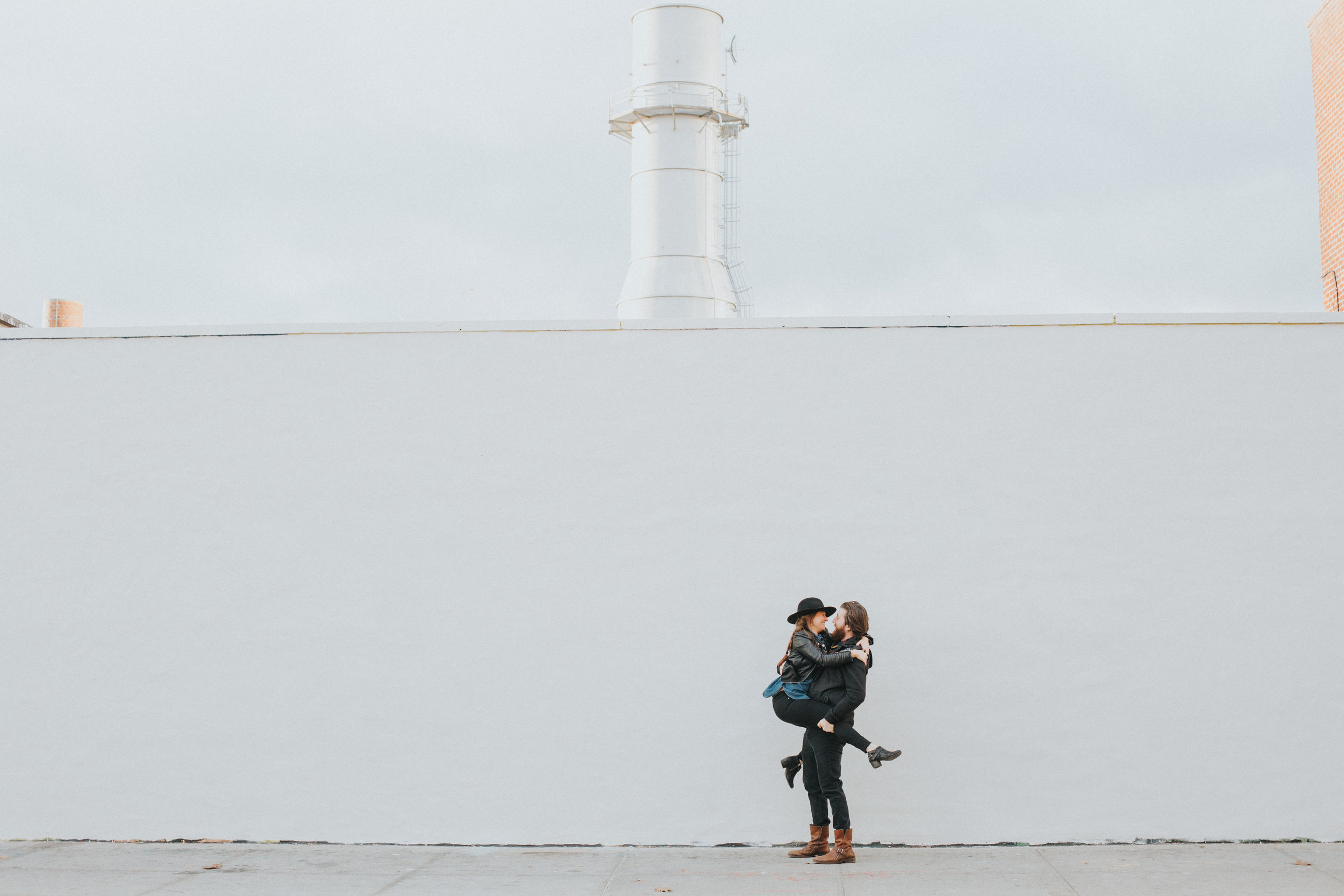 Artistic NYC Engagement Shoot