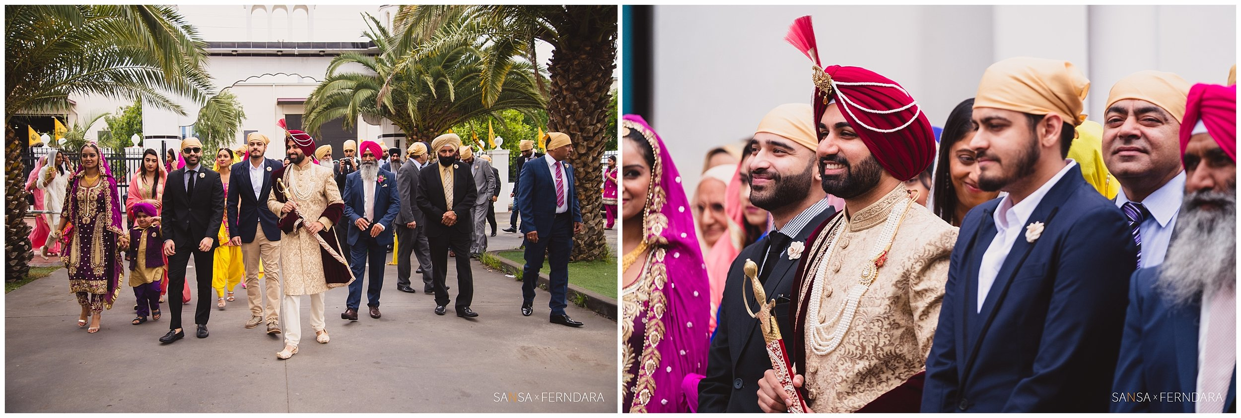 Choose any location or style and Ferndara is there to do Indian wedding photography.