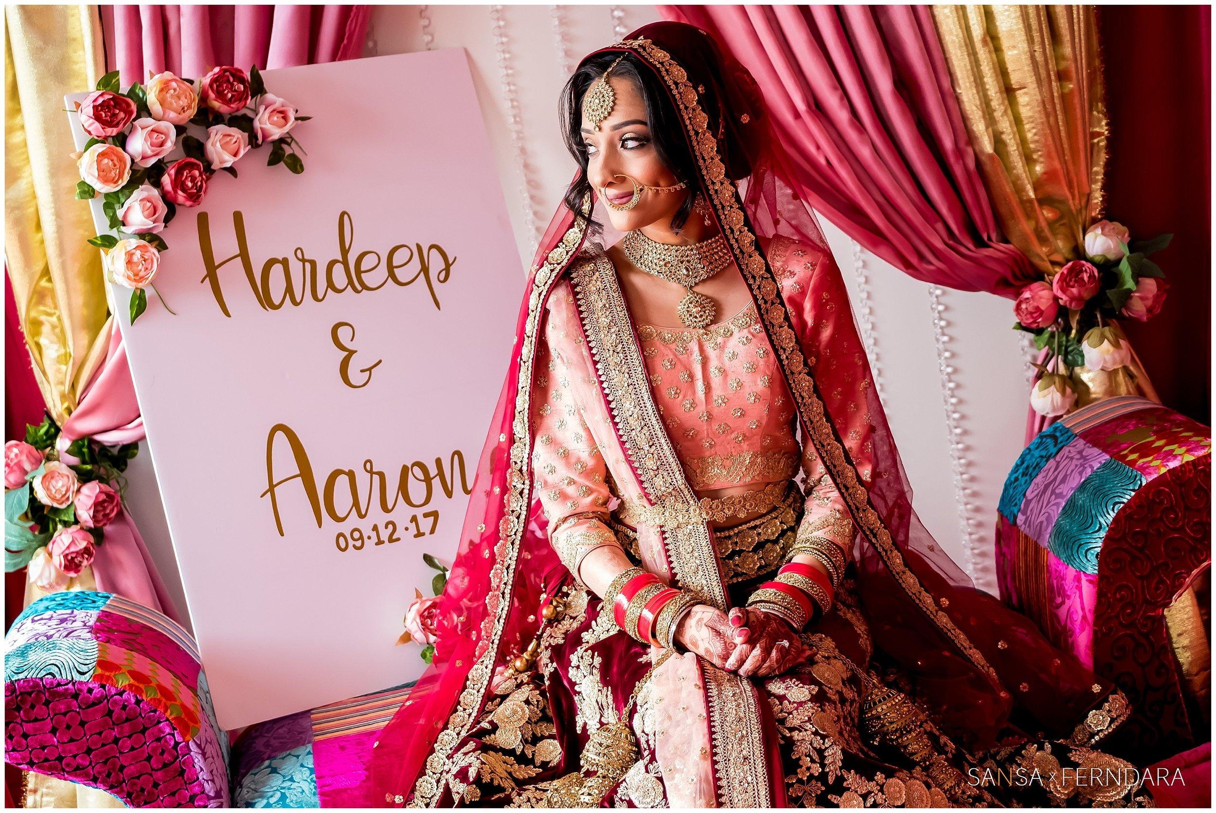 Indian wedding is all about multiple ceremonies and traditions to be followed.  Ferndara reflects those  traditions in wedding photographs.