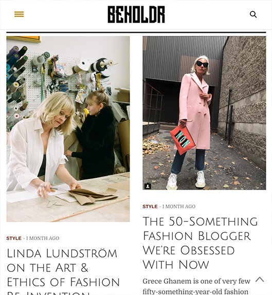 Read - Check out Beholdr. Veteran Canadian beauty editor Carlene Higgins new platform dedicated to diverse,
