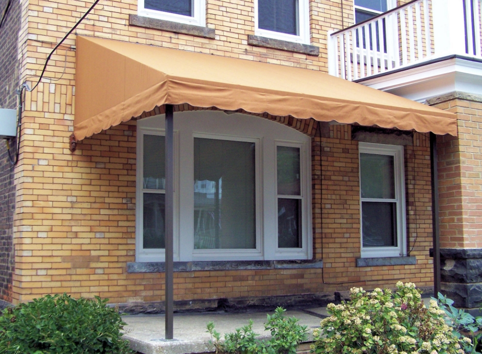 Year Around Wall Mount Awning: Outside View