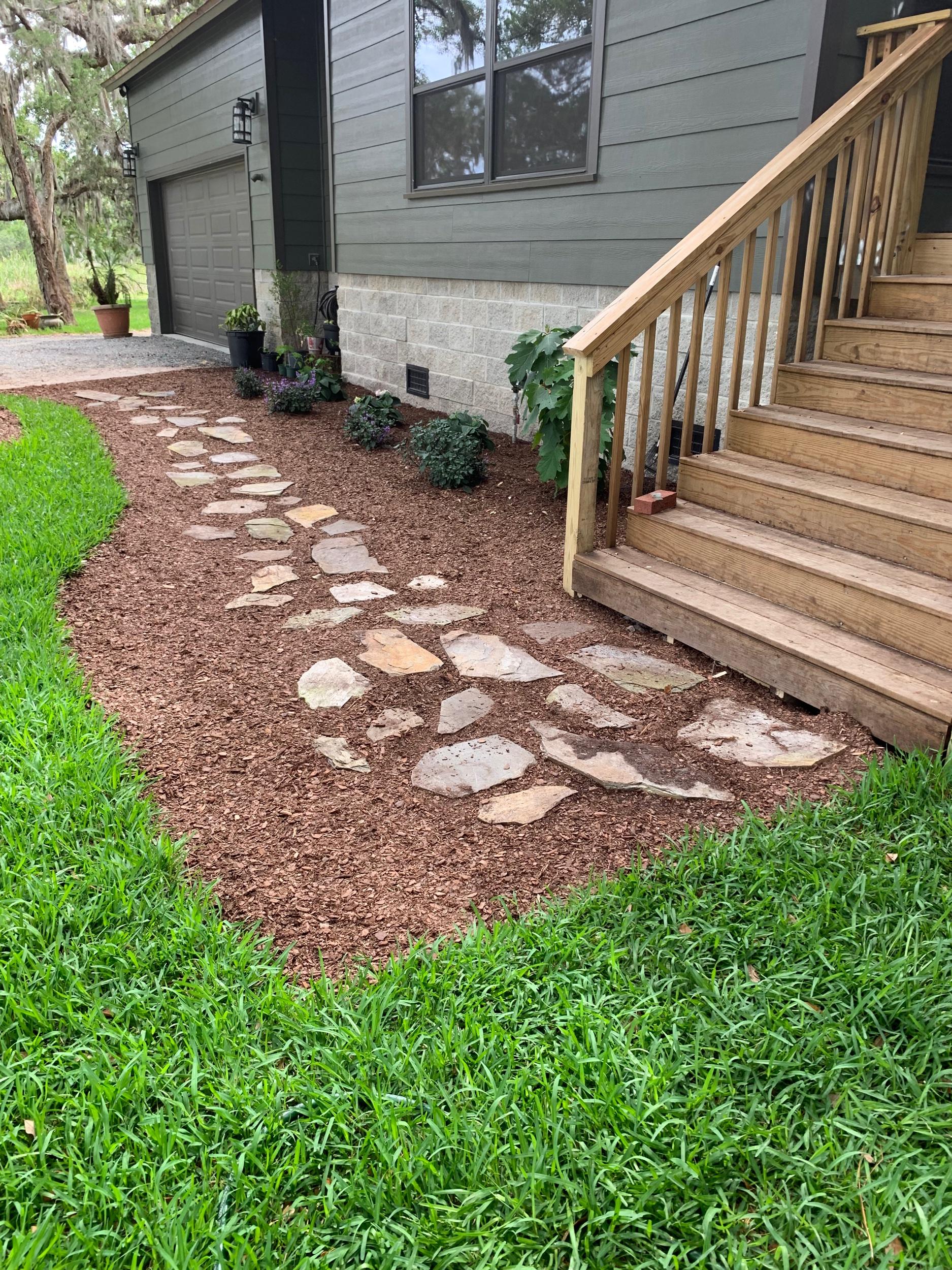 Fine pine mulch!