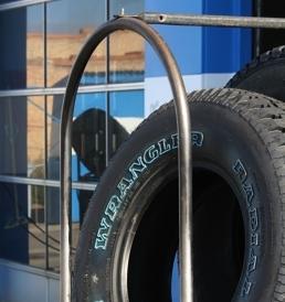 Tires: Repair and new