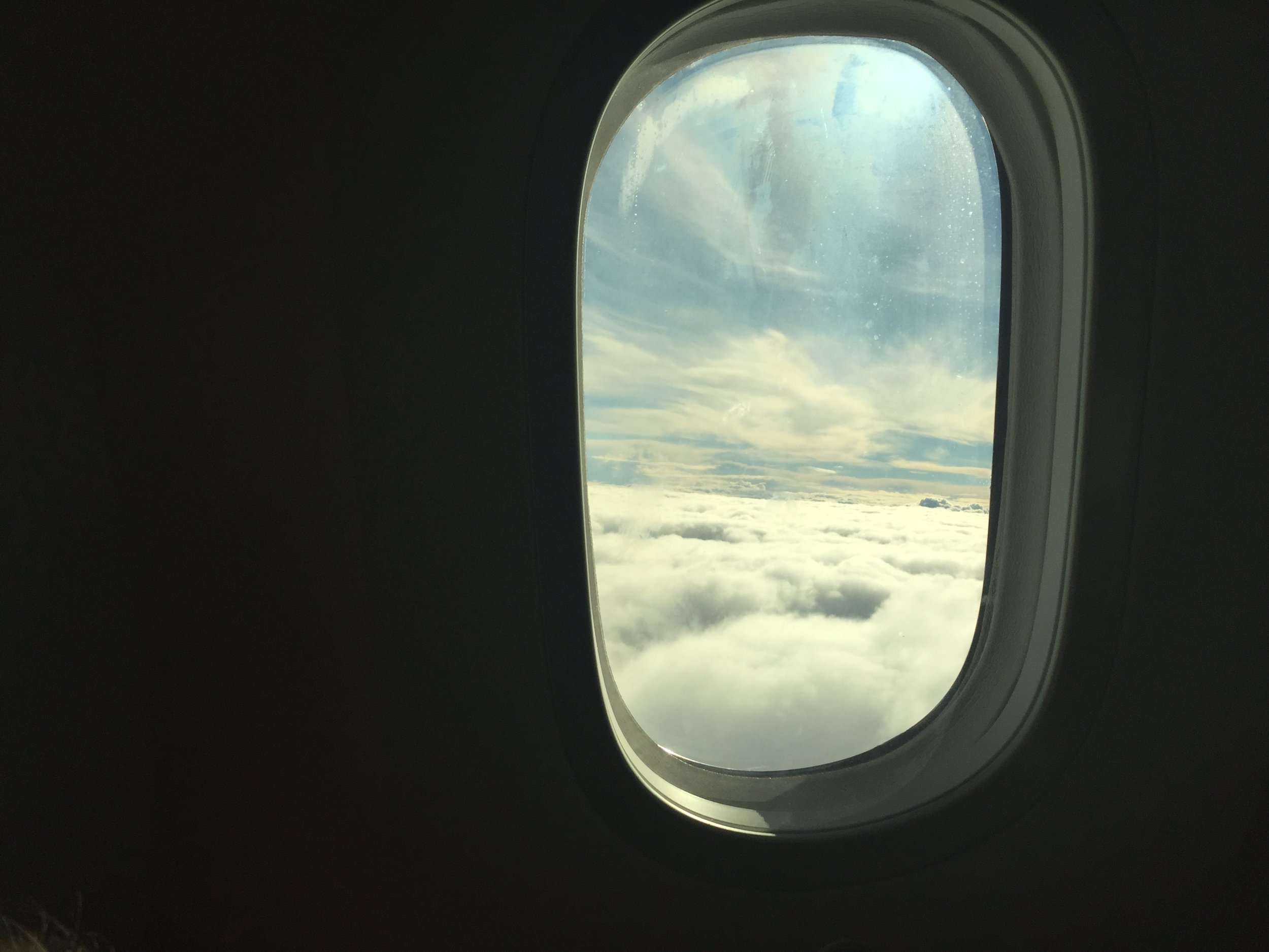 Sometimes being up in the clouds is just where you belong.