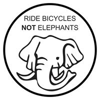 Ride bicycles not Elephants