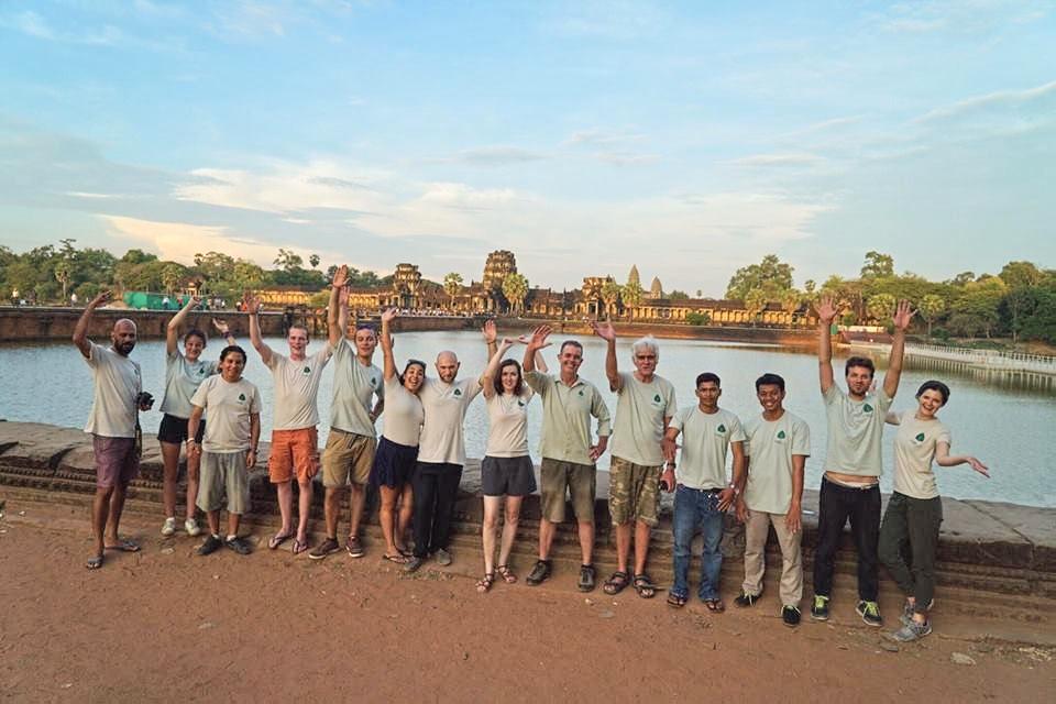 Plastic Recycling Angkor Wat Siem Reap
