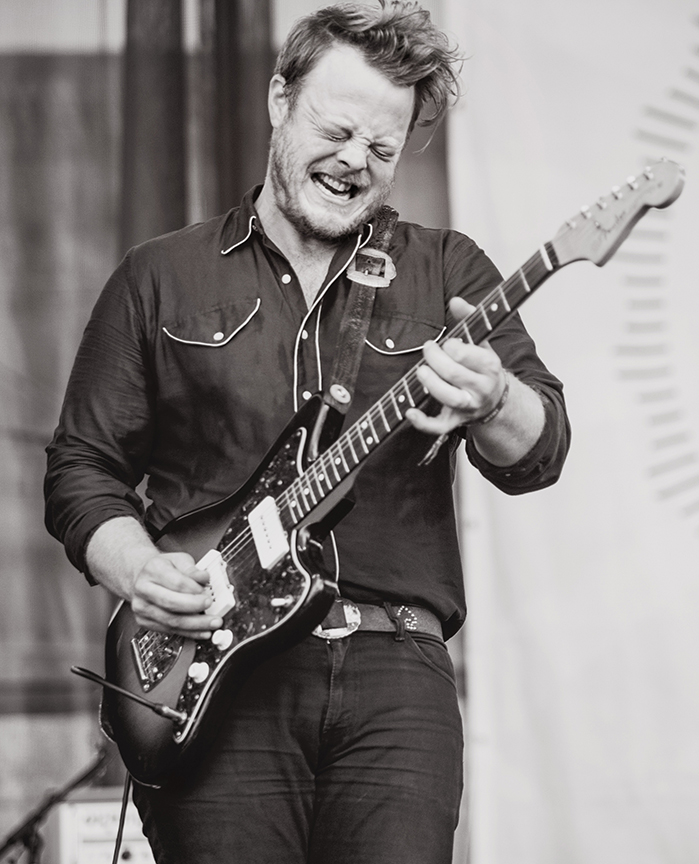 Brian Elmquist of The Lone Bellow