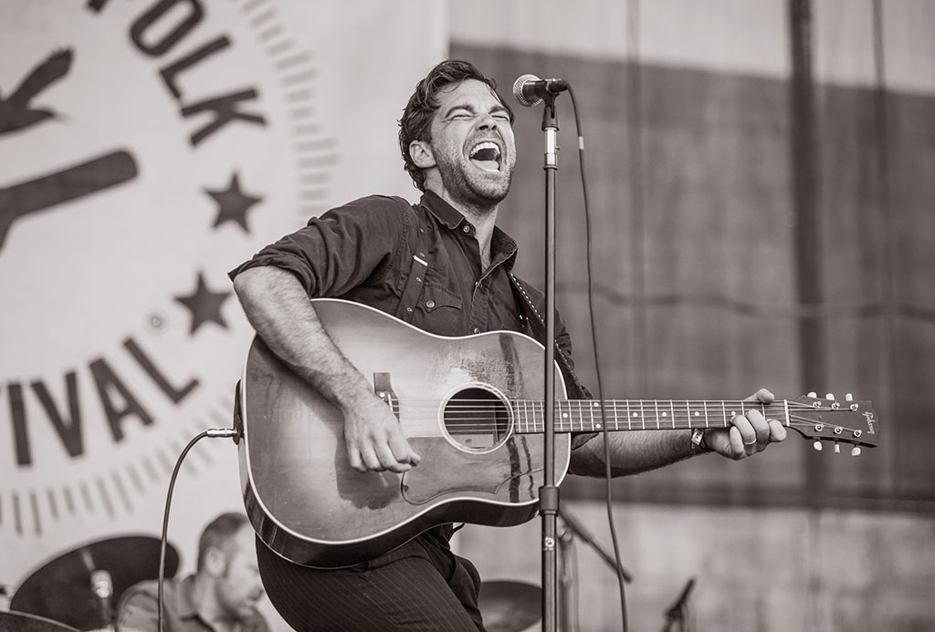 Zach Williams of The Lone Bellow