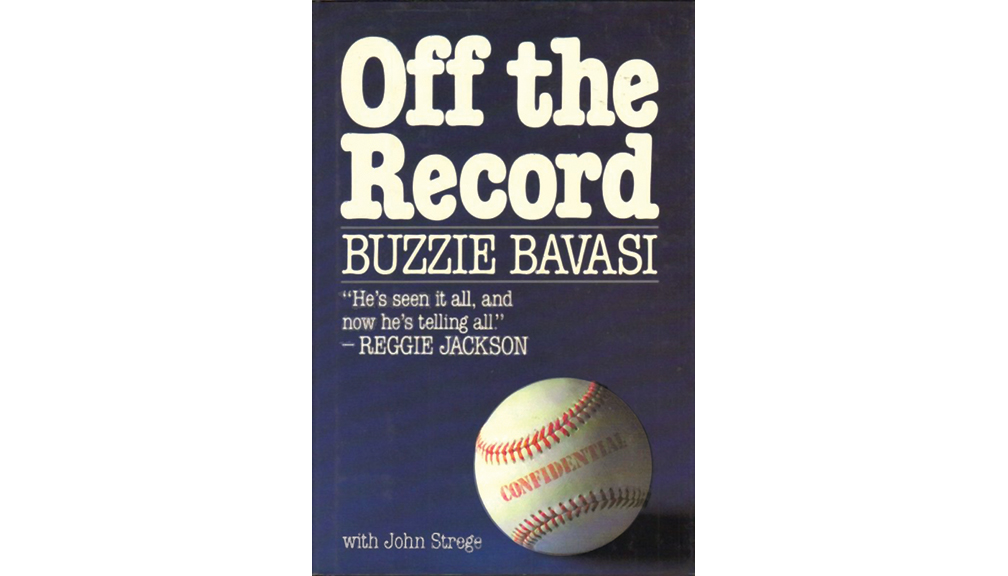 "In 1987 Bavasi chronicled his career in ""Off the Record."""