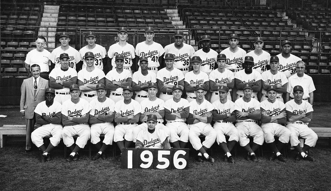 Brooklyn Dodgers win National League Pennant