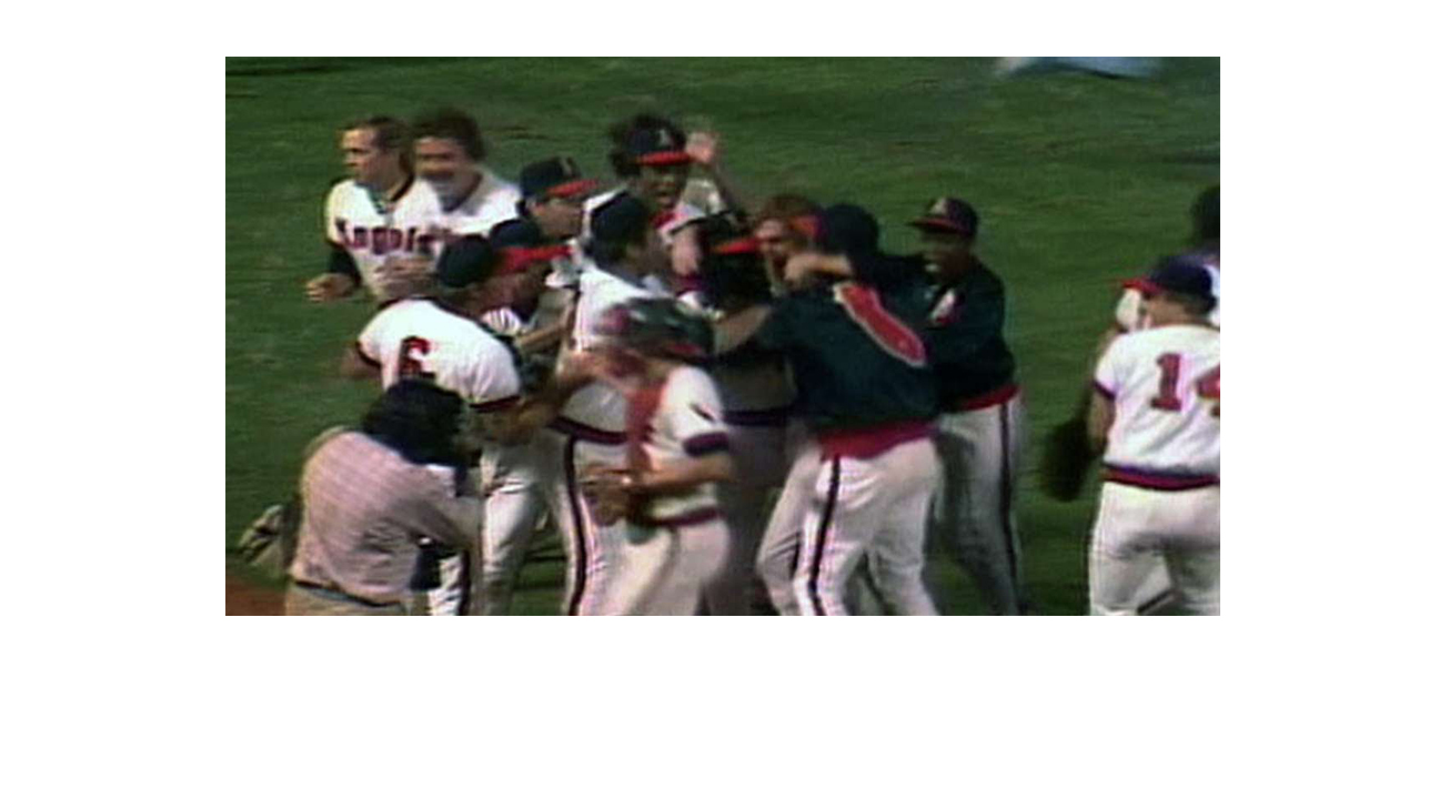 California Angels win American League West Division title  Bavasi brought his innovative style and spirit to Anaheim in 1978. The following year the club won its first division title.