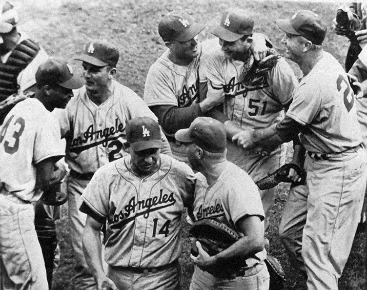 Los Angeles Dodgers win World Series  Bavasi wasted little time in bringing winning baseball to the West Coast, capturing a World Series championship for Los Angeles in the club's second season there.