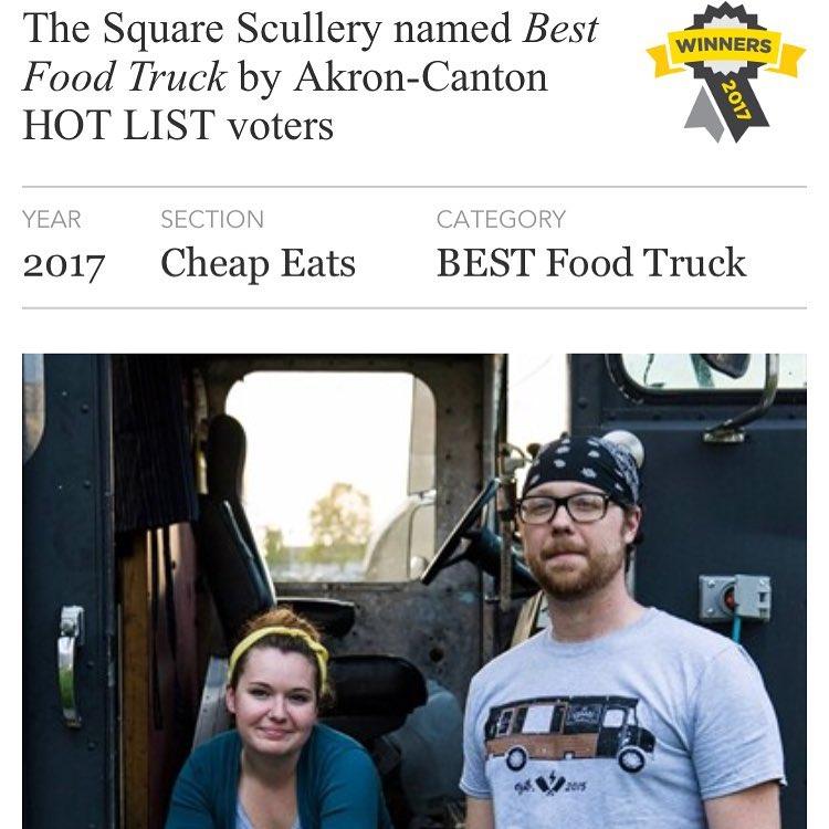 Akron's Best Food Truck 2017!