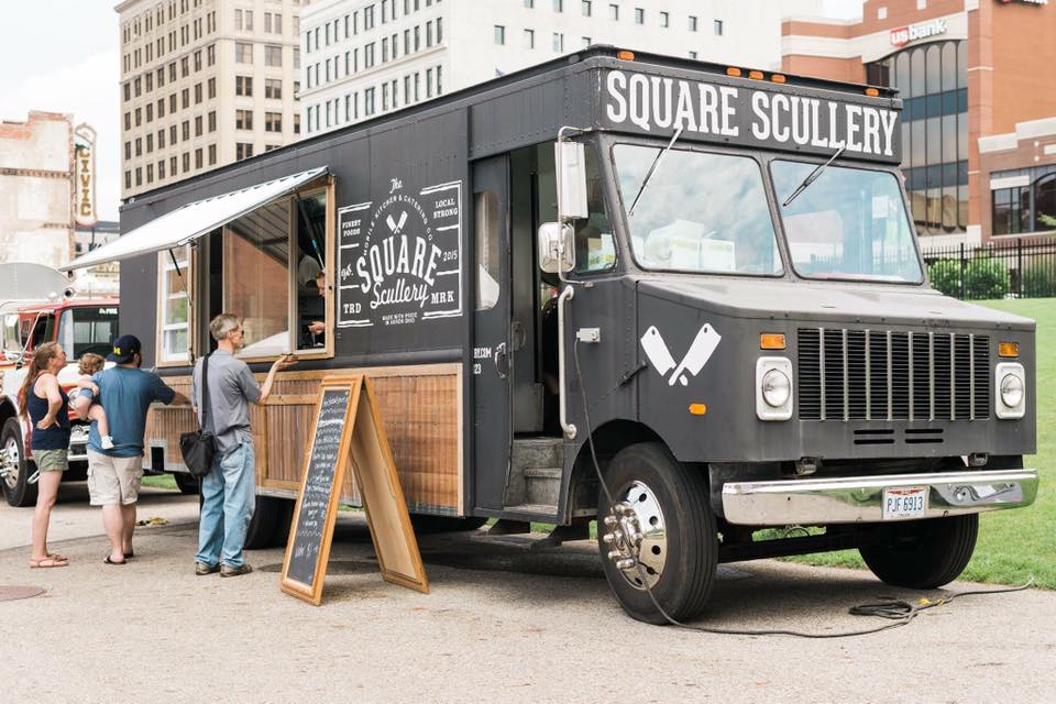 The Square Scullery Food Truck