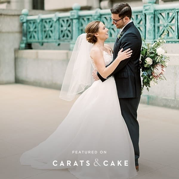Alongside with amazing fellow wedding vendors, we were featured on Carots & Cake this week!