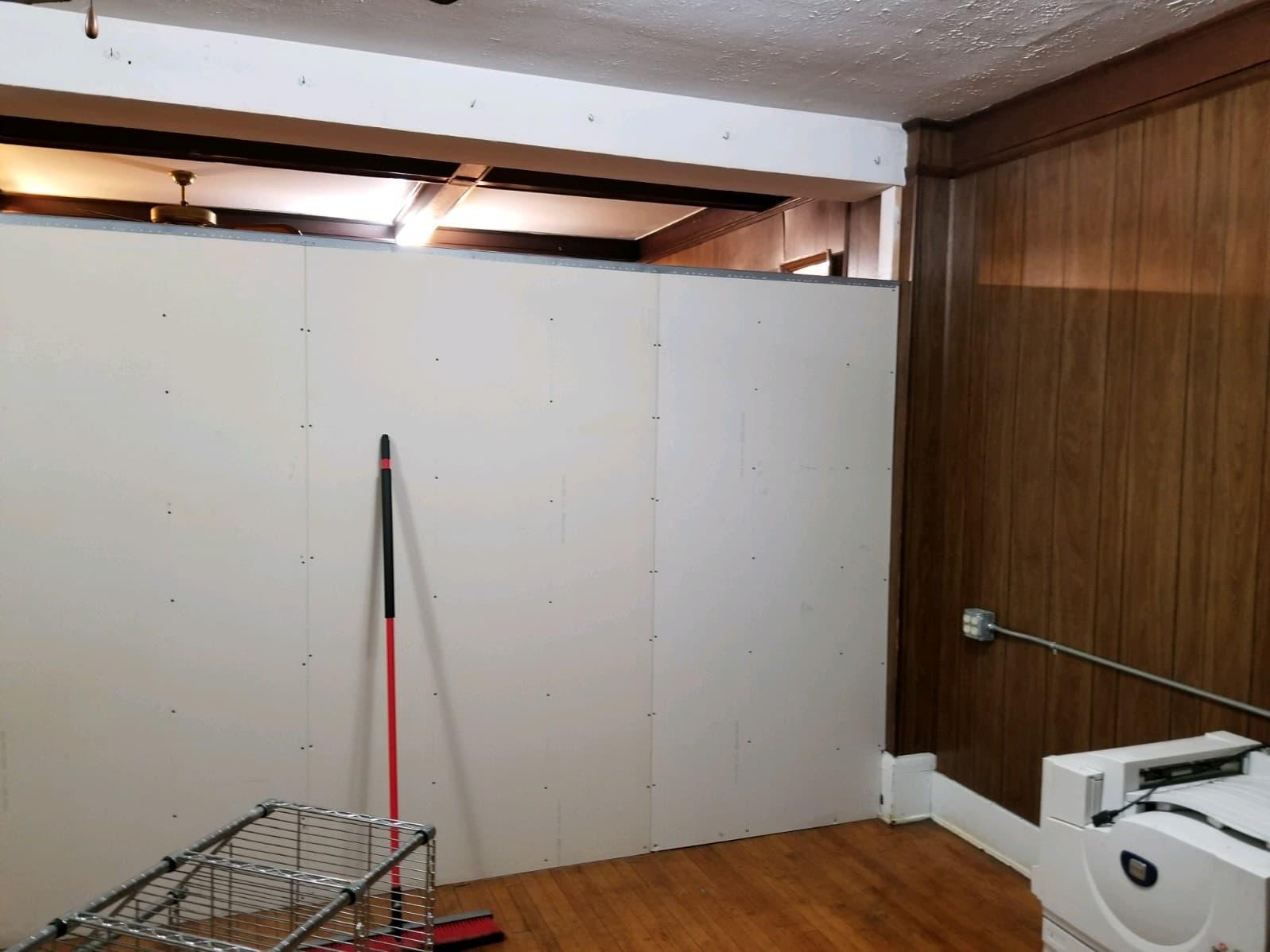 Partial Drywall Wall