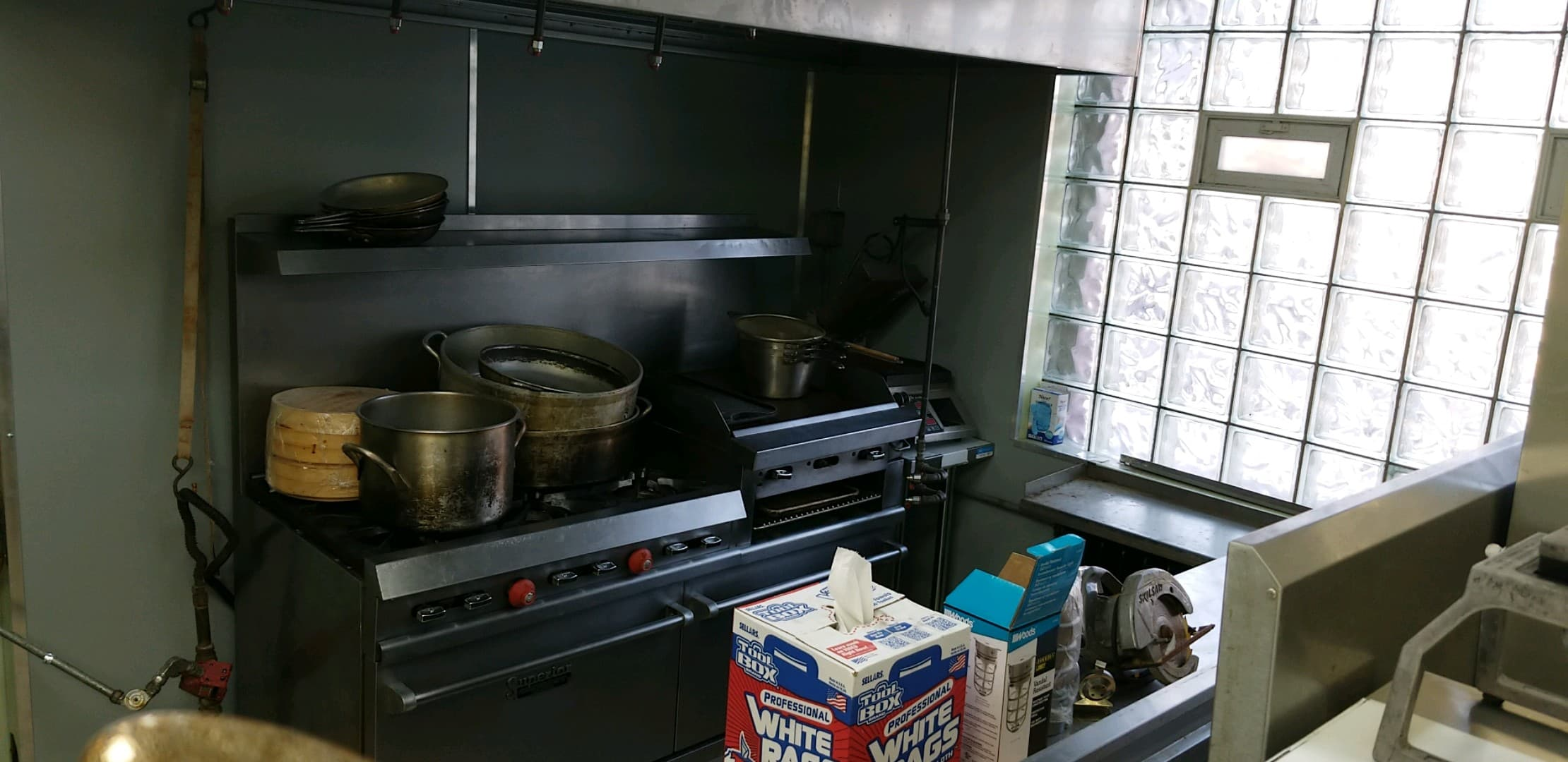 Holy Calamity - its looking like a kitchen