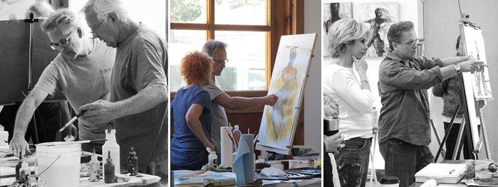 David Limrite creativity workshop artists San Luis Obispo Museum of art