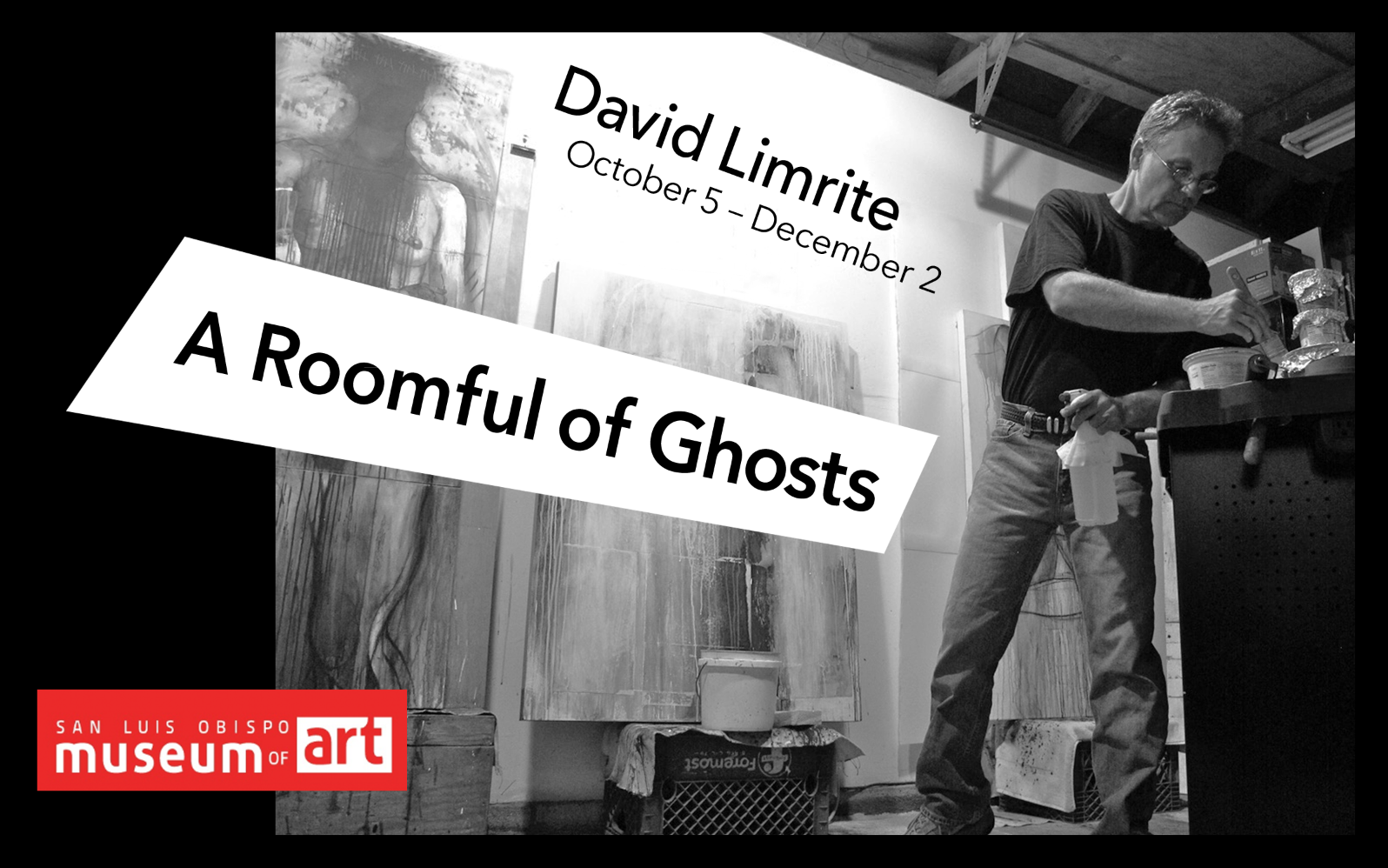 Copyright 2018 David Limrite Roomful of Ghosts Figure Painting Drawing Teacher Artist