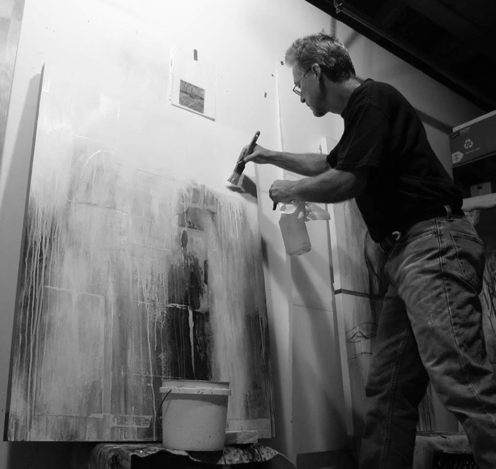 Copyright 2018 David Limrite Roomful of Ghosts 3 Figure Painting Drawing Teacher Artist.jpeg