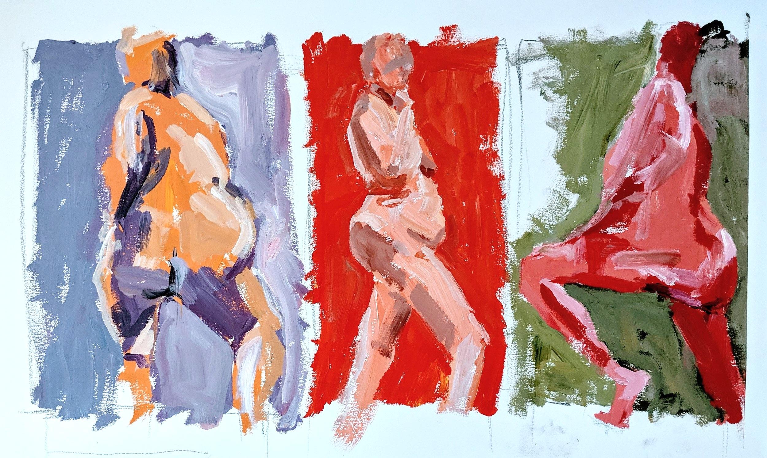 Copyright 2019 Julie Winter - Figure Drawing & Painting Workshops David Limrite San Luis Obispo
