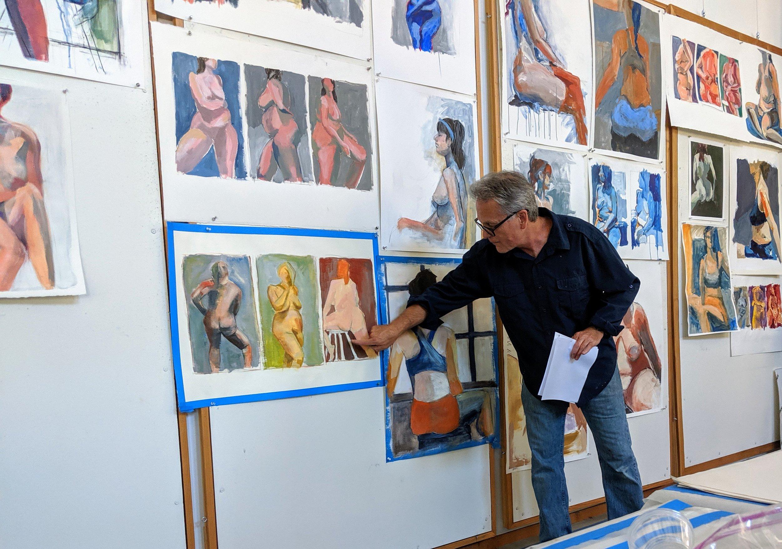 Figure Painting & Drawing Workshop, San Luis Obispo County (Arroyo Grande, CA) | David Limrite, Instructor