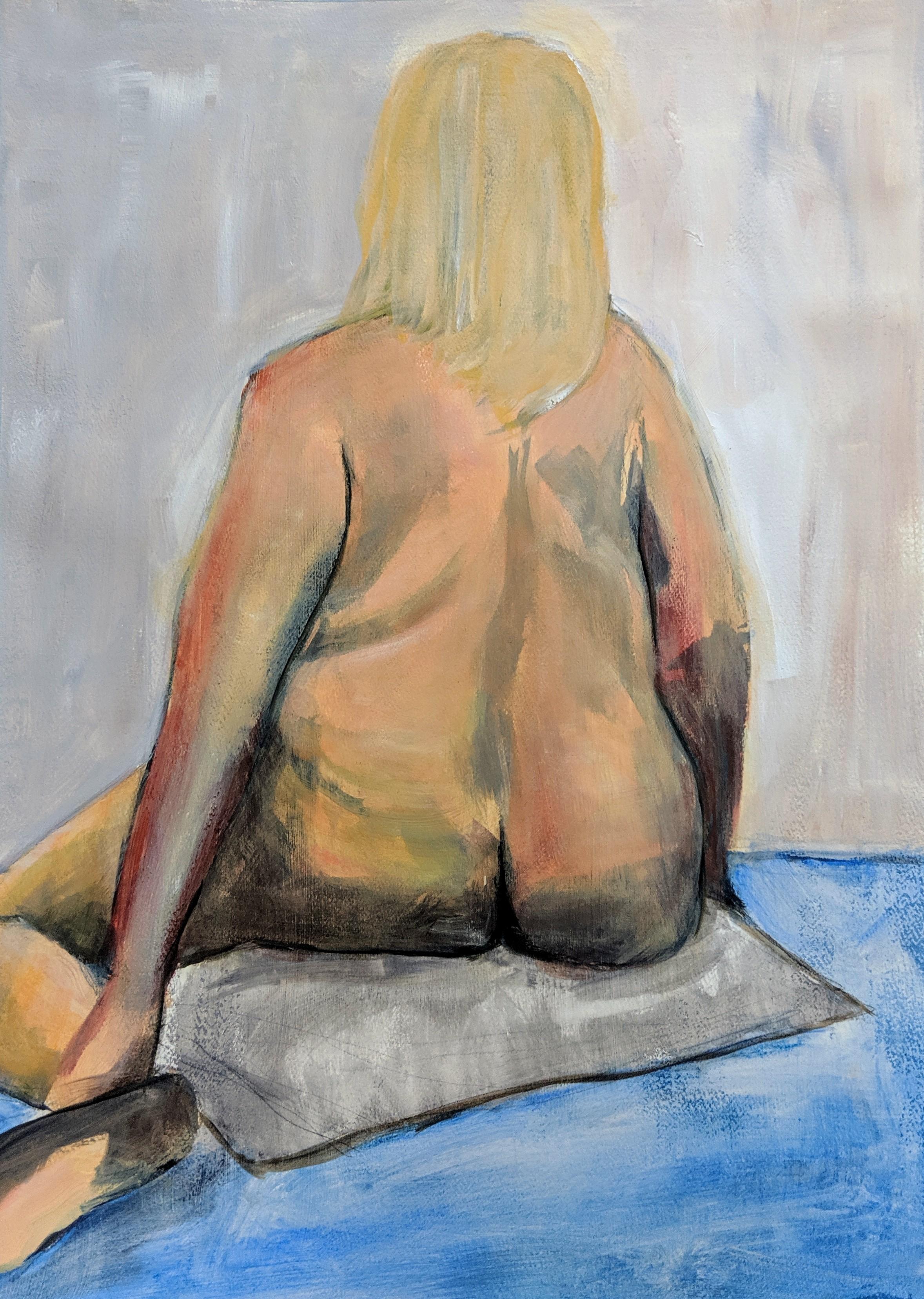 ©2019 Agnes Peters | Figure Painting & Drawing Workshop, San Luis Obispo County (Arroyo Grande, CA) | David Limrite, Instructor