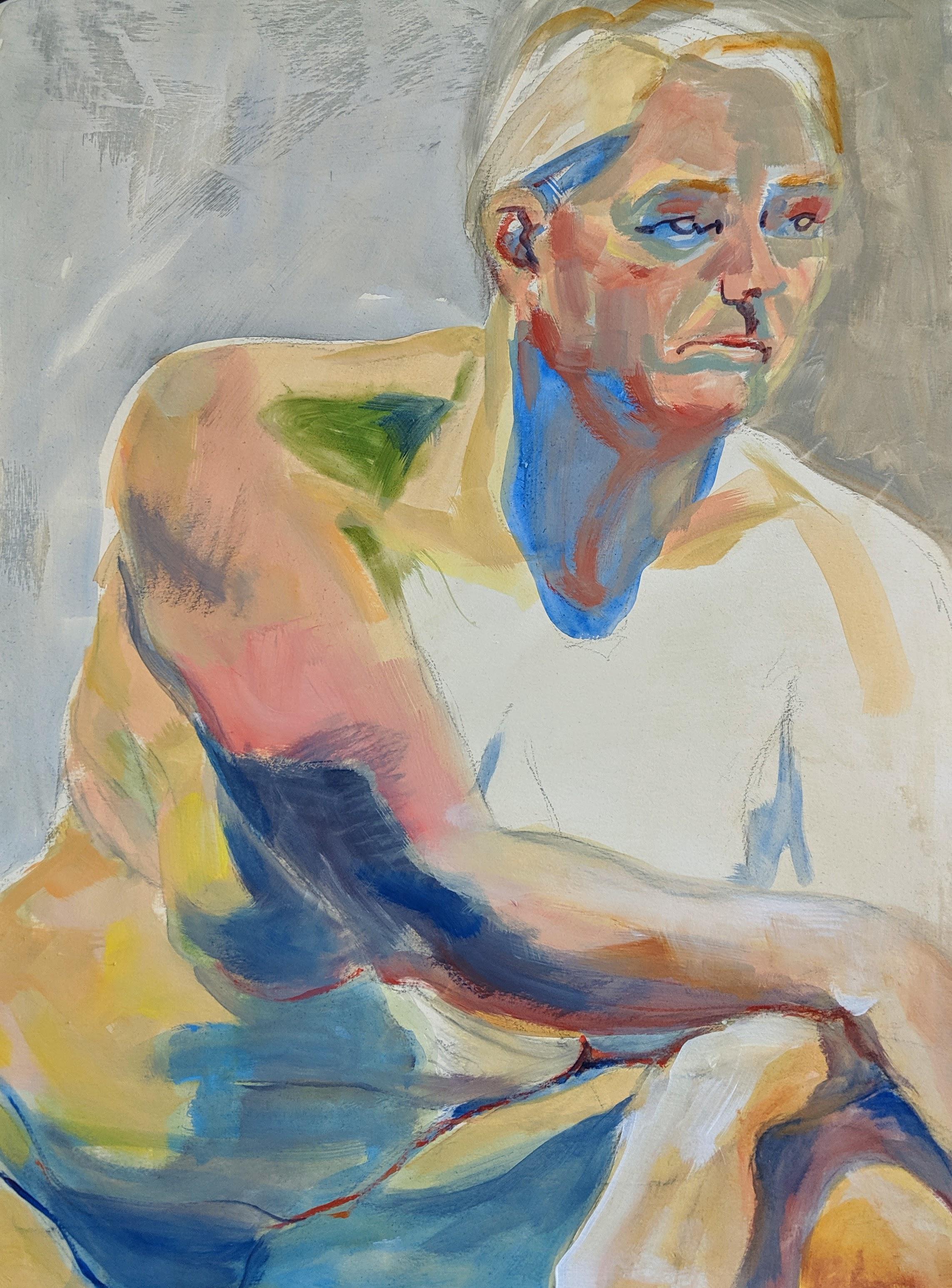 ©2019 Leslie Hannon | Figure Painting & Drawing Workshop, San Luis Obispo County (Arroyo Grande, CA) | David Limrite, Instructor