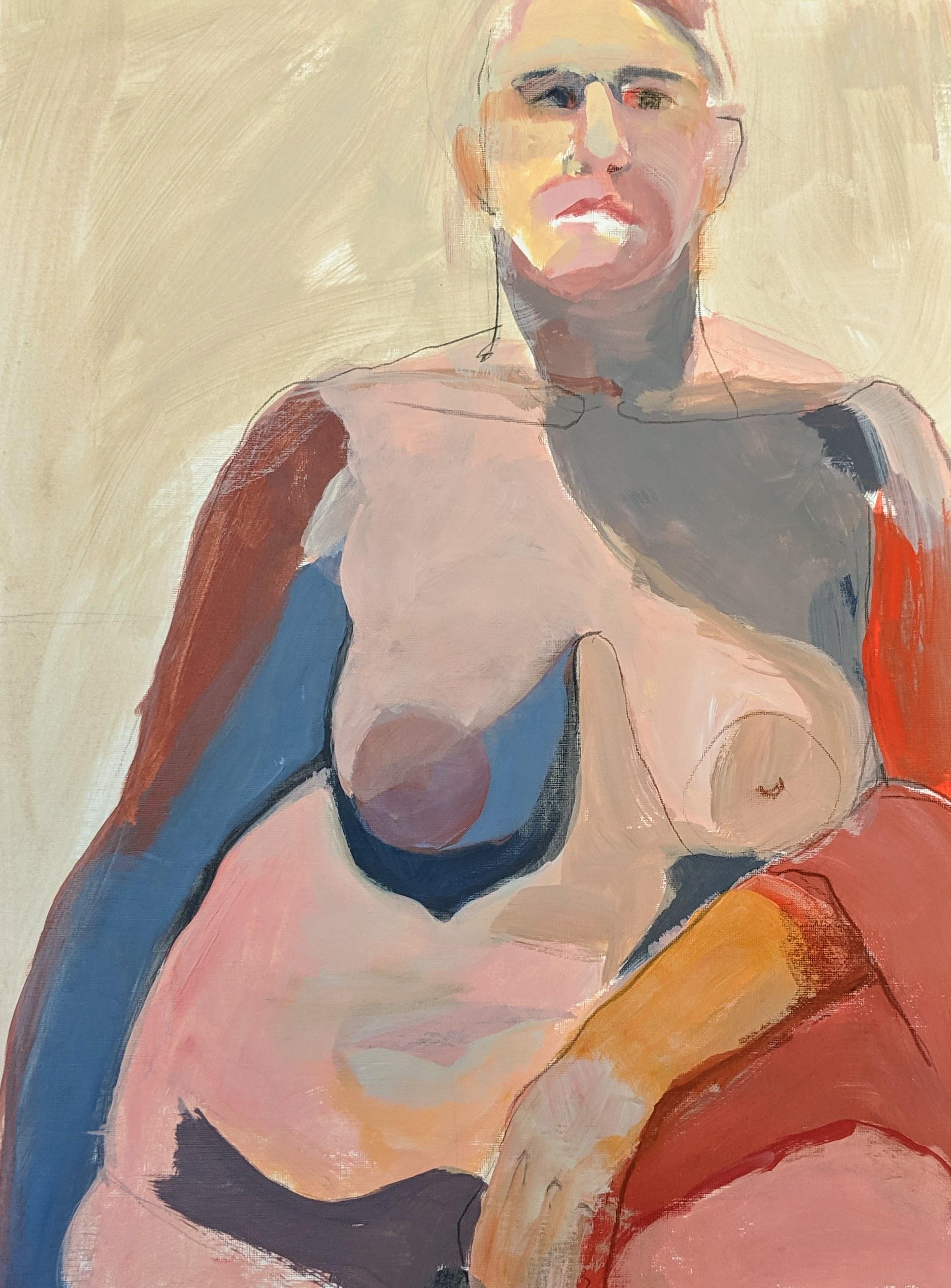 ©2019 Tamara Greenebaum | Figure Painting & Drawing Workshop, San Luis Obispo County (Arroyo Grande, CA) | David Limrite, Instructor