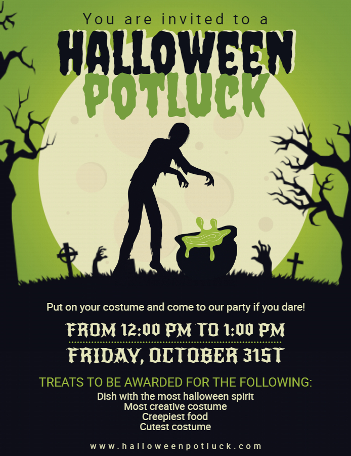 Ideas For Your Halloween Party - Halloween Posters! | Design ...