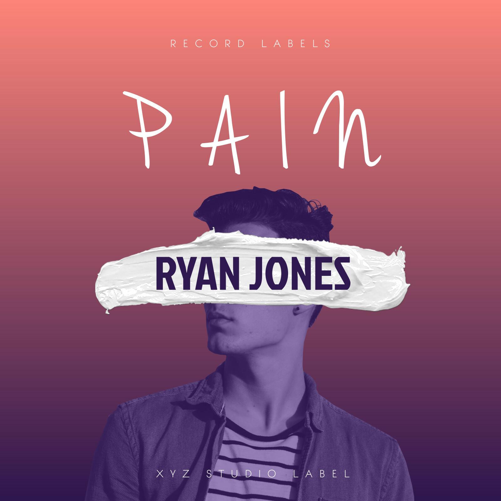 Pop Music Album Cover