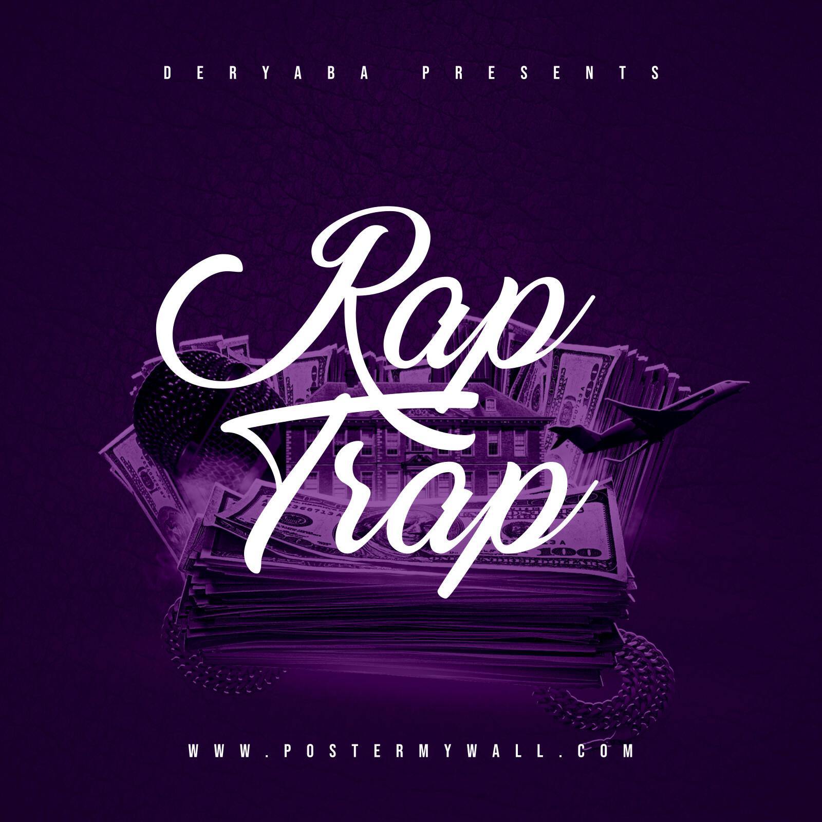 Purple R&B Album Cover